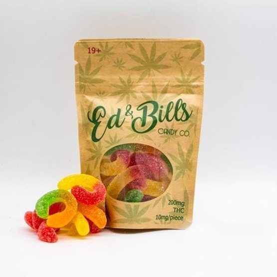 Ed 'n Bills Candy Edibles Gummy Worms