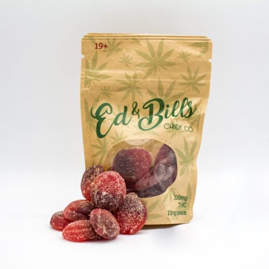 Ed 'n Bills Candy Co Edibles cherry slices