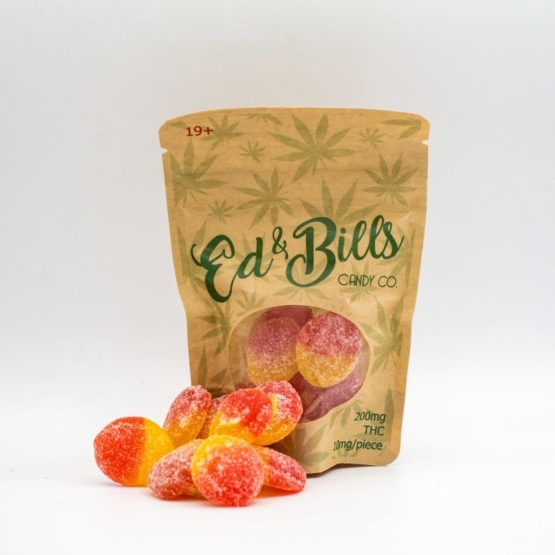 Ed 'n Bills Candy Co Edibles peach slices 2