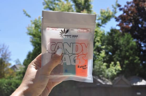 Treat Leaf Edibles Candy Bags Extra 80mg 9 Pack Gummy 2