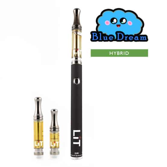 Lit Vape Pens Blue Dream Cannabis Strain Hybrid 1
