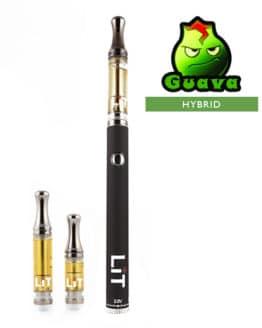 Lit Vape Pens Guava Cannabis Strain Hybrid