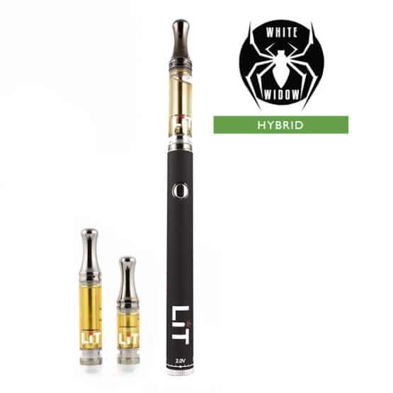Lit Vape Pens White Widow Cannabis Strain Hybrid 1
