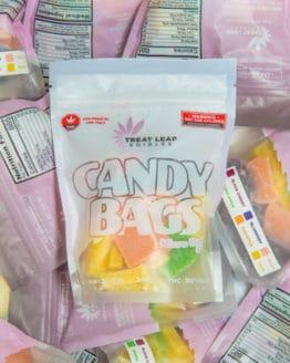 Traitez les feuilles comestibles Sachets de bonbons Micro Dose 5mg 36 Pack Gummy 2