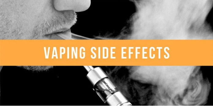 What are the Side Effects of Vaping and Are There Remedies