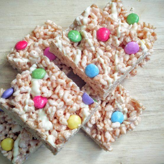 Munchin Edibles Smartie Rice Krispie