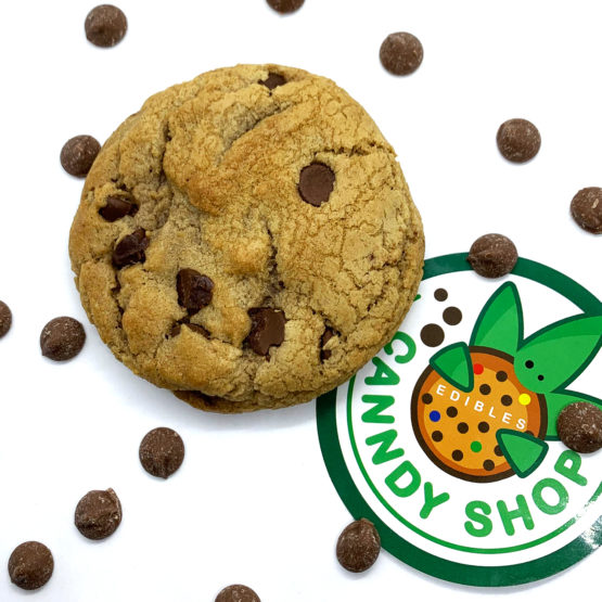Canndy Shop Edibles THC Chocolate Chip Cookie Creative2