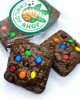 Canndy Shop Edibles THC Milk Chocolate Brownies with Mini MMs Main