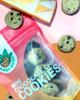 Canndy Shop Edibles THC Mini Chocolate Chip Cookies 2