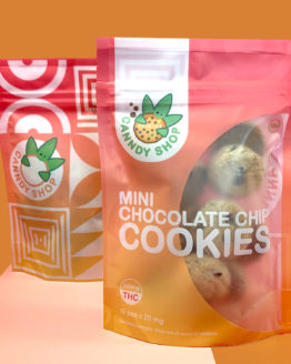 Canndy Shop Edibles THC Mini Chocolate Chip Cookies 3