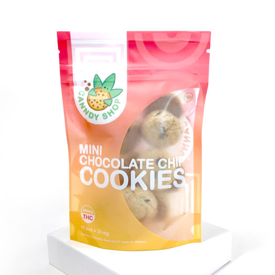 Canndy Shop Edibles THC Mini Chocolate Chip Cookies